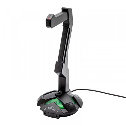 Yeyian Headset Stand Overpower Black - Model: YAO-29201N