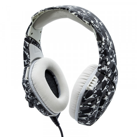 Yeyian Gaming Headset Force Series 3000, Winter Camouflage - Model: YDF-33401G